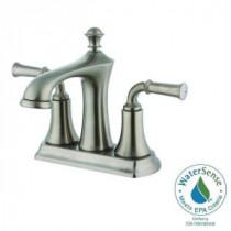 4 in. Minispread 2-Handle Bathroom Faucet in Brushed Nickel