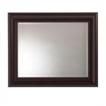 Saranac 36 in. x 30 in. Framed Mirror
