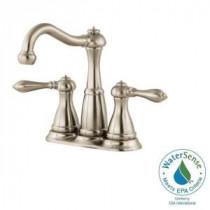 Marielle 4 in. Minispread 2-Handle High-Arc Bathroom Faucet in Brushed Nickel