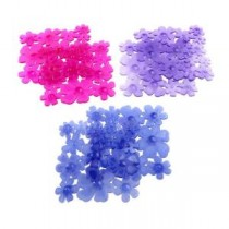 Flower Bath Treads in Berries (6-Count)