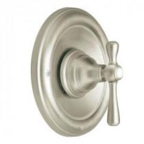 Kingsley 1-Handle Moentrol Valve Trim Kit in Brushed Nickel (Valve Sold Separately)