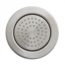 WaterTile 4.875 in. 1-Spray 54-Nozzle Round Body Sprayer in Vibrant Brushed Nickel