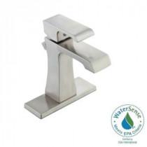 10000 Series 4 in. Centerset Single-Handle High Arc Bathroom Faucet in Brushed Nickel