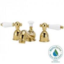 Bradsford 4 in. Minispread 2-Handle Mid-Arc Bathroom Faucet in Satin Nickel