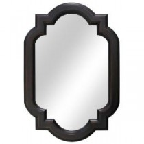 22 in. W x 32 in. L Framed Wall Mirror in Oil Rubbed Bronze